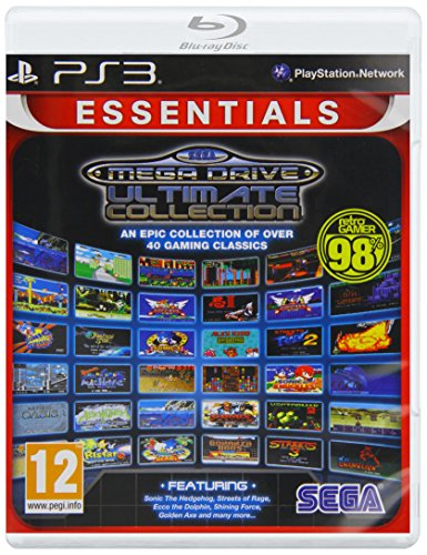 NEW & SEALED! Sega Mega Drive Ultimate Collection Sony Playstation 3 PS3 Game UK