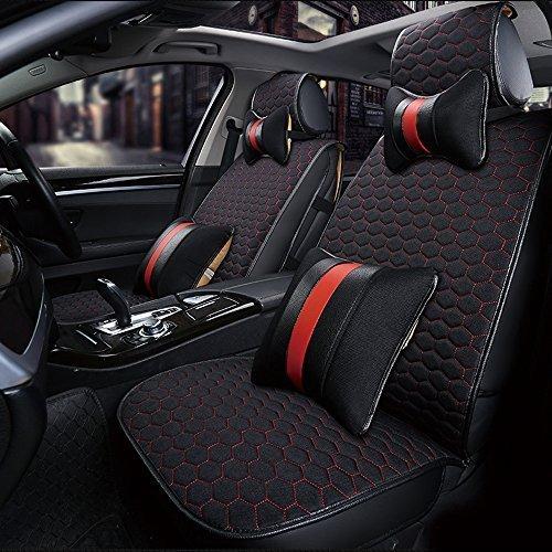Preisvergleich Produktbild KFZ Sitzbezug deckt Set für Chrysler 200300C Grand Voyager Ypsilon Dacia Dokker Duster Lodgy Logan, Sandero