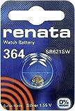 364 (SR621SW) Pila de Botón / Óxido de Plata 1.55V / para Los Relojes, Linternas, Llaves del Coche, Calculadoras, Cámaras, etc