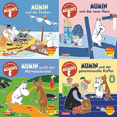 Maxi-Pixi-Serie Nr. 58: 4er Bundle: Die Mumins: Alle Infos bei Amazon