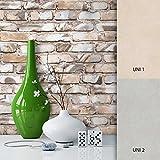 NEWROOM Steintapete Braun Papiertapete Stein Muster/Motiv schöne moderne und edle Design 3D Optik , inklusive Tapezier Ratgeber
