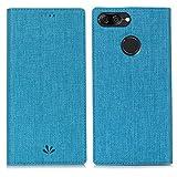 Eastcoo Xiaomi Mi A1 Hülle, PU Leder Folio Flip Handyhülle Brieftasche Mit Standfunktion Magnetverschluss Wallet Book Klapphülle Schutzhülle Tasche Case Cover für Xiaomi Mi A1 (Mi A1,Blue)