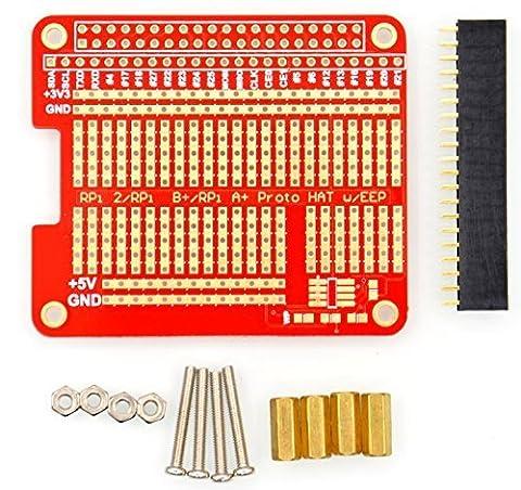 DIY Proto Hat Shield for Raspberry Pi 2 B+ A+ Raspberry Pi 3 Model B.