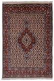 Morgenland Teppiche 141 x 94 cm Orientteppich Beige Handgeknüpft Gemustert