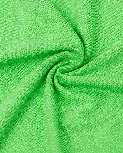 ZANZEA Femmes Sexy Slim Cross Bandage Coton Débardeurs Sans Manches Chemise Gilet Shirt Cami Fluor vert
