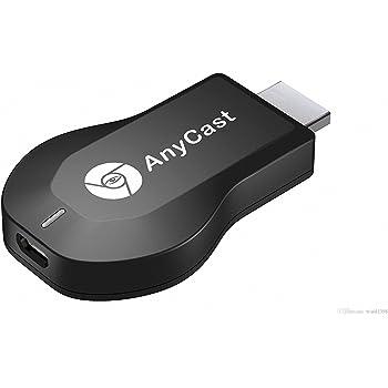 AnyCast M2 Plus DLNA/Wifi Display Receiver/Chromecast/Airplay WiFi 1080P FHD HDMI TV Stick Dongle (Black)