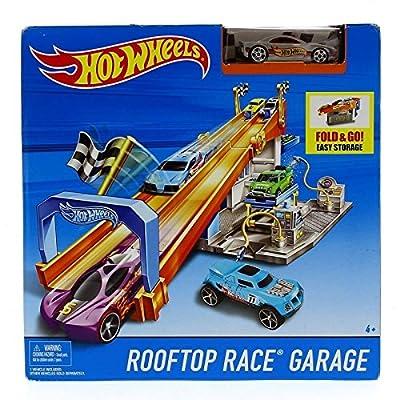 Hot Wheels Rooftop Race Garage with Hot Wheels Vehicle von Hot Wheels