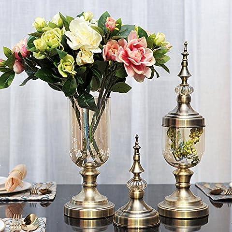 qwer Il nuovo classico del tè-colorati vasi di vetro ammettere