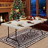 Tisch klappbar Kunststoff weiß 76x182 cm Partytisch Buffettisch Klapptisch