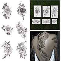 Tattify Floral Temporary Tattoos - A Rose by Any Other Name (Set of 12) by Tattify