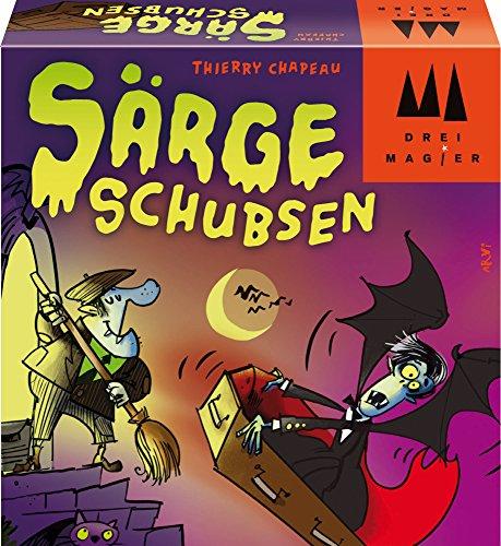 Schmidt Spiele 40876 Särge schubsen, Drei Magier Kartenspiel