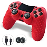 Controller PS4, PS4 Controller, Controller PS4 Wireless, Evaliss Touch Panel Game Controller con Shock a Doppia…