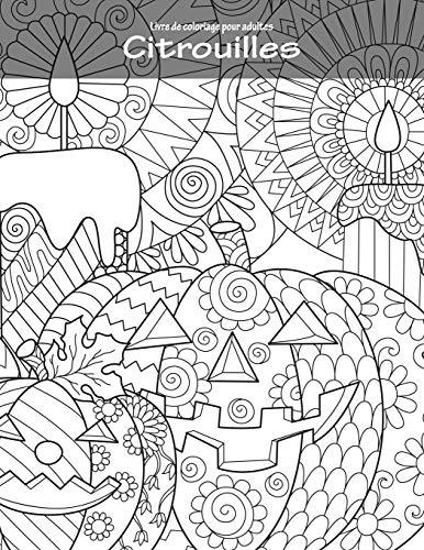 Livre de coloriage pour adultes Citrouilles 1