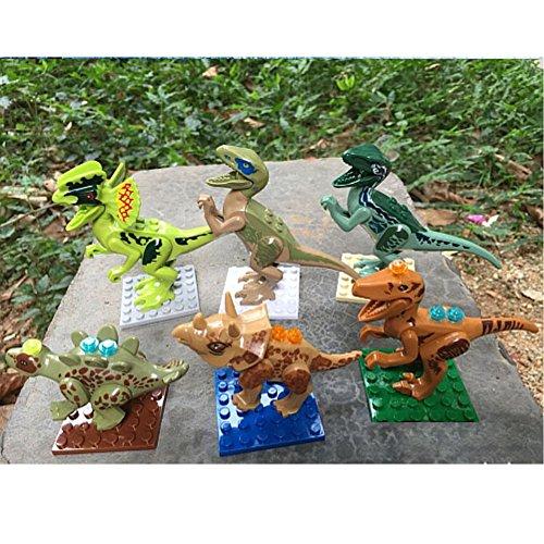 Preisvergleich Produktbild Sunching 6 Legt Dinosaurs Minifiguren Bau-Spielzeug Toys