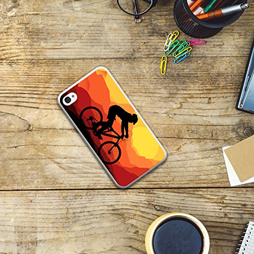 iPhone 4 iPhone 4S Hülle, WoowCase® [Hybrid] Handyhülle PC + Silikon für [ iPhone 4 iPhone 4S ] Husky-Hunde Sammlung Tier Designs Handytasche Handy Cover Case Schutzhülle - Transparent Housse Gel iPhone 4 iPhone 4S Transparent D0563