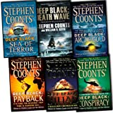 Stephen Coonts Deep Black 6 Books Collection Pack Set RRP: 47.94 (Death Wave...