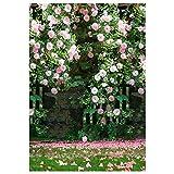 Aediea Digitalfotografie-Hintergrundstoff, Blumen-Hochzeits-Foto-Hintergrund-Dekor