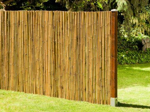 Bambuszaun: Noor Bambusmatte Deluxe