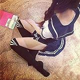 - 61Sr8MnsrsL - Olanstar Sexy Cosplay Schulmädchen Dessous Outfit Mini Sailor Anzug mit Strümpfen