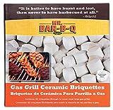 Mr. Bar-B-Q 06000X Keramik Briketts–Grau (60)
