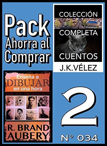 Pack Ahorra al Comprar 2 (Nº 034): Enseña a dibujar en una hora & Colección Completa Cuentos De Ciencia Ficción y Misterio