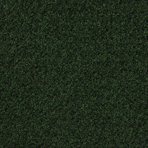 Kunstrasen Rasenteppich mit Noppen | 133, 200, 250 und 400 cm Breite | verschiedene Größen | Höhe ca. 7,5mm | dunkel-grün | Größe: 2,5 x 4 m