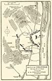 Ken Welsh / Design Pics – Map of the Battle of Omdurman Khartoum Sudan 1898 showing the 1st attack at 6.45 a.m. and the Khalifa's attack at 9.40 a.m. From Field Marshal Lord Kitchener His Life and Work for the Empire published 1916. Photo Print (27,94 x 43,18 cm)