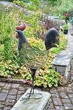 Grande Metal Toulouse gallo decorativo adorno de jardín escultura–82cm de...