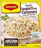 Maggi fix und frisch für Spaghetti Carbonara 42er Pack (42x34g)