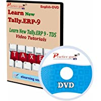 New Tally.Erp 9 TDS Video Tutorial [CD-ROM]