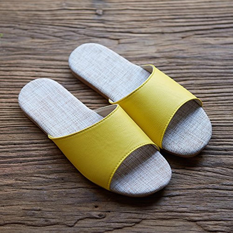 Ropa interior antideslizante zapatillas,40 y 41 amarillo