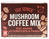 Four Sigma Foods Mushroom Coffee with Chaga and Cordyceps