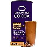 Christopher Cocoa Drinking Chocolate Cocoa Powder, Dark No Sugar, 200 g