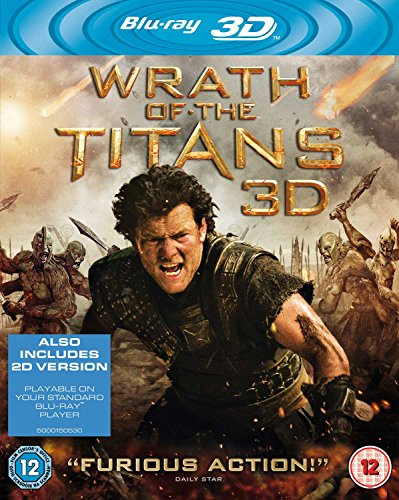 Wrath Of The Titans (Blu-ray + Blu-ray 3D + UV Copy) [Region Free] [UK Import]