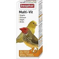 BEAPHAR – Multi-Vit, vitamines pour oiseau – Contient 11 vitamines – Assure une santé optimale – Stimule le chant…