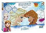 Craze 54384 - Rainbow Beadys Bügelperlen Mega Set Disney Frozen inklusiv Zubehör, 7500 Perlen, blau