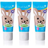 Brush-Baby Applemint Toothpaste for Babies & Toddlers | Stage 2-First Teeth | 0-36 Months | Applemint Flavour Plus…