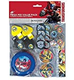 Transformers 48 Piece Mega Mix Value Party Favor Pack ~ Birthday Party Supplies by Amscan