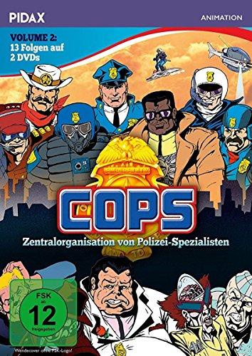 C.O.P.S., Vol. 2 / Weitere 13 Folgen der erfolgreichen Serie (Pidax Animation) [2 DVDs]