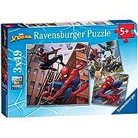 Ravensburger 08025 - Puzzle Spiderman 3 x 49 Pièces