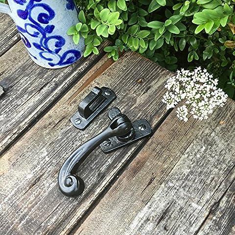 Antikas - bloqueo puerta - bisagra como antigua - cerradura puerta - cierre gancho - bisagras puertas de madera - cerrojo de hierro - pestillos