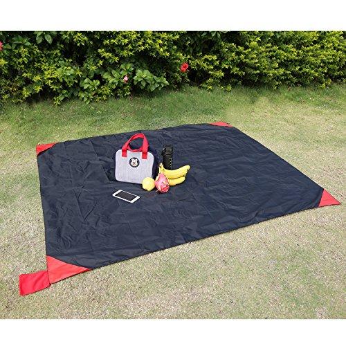 Picknickdecke 180x150cm Campingdecke und Taschendecke Wasserdichte zusammenfaltbar Picknickdecke und Stranddecke Tragbar für den Außenbereich, Reisen, Camping