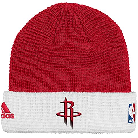 Houston Rockets Adidas NBA 2015 Authentic Team Cuffed Knit Hat