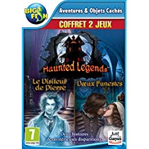 Haunted Legends double pack 5 et 6 : Le Visiteur de Pierre + Vœux Funestes