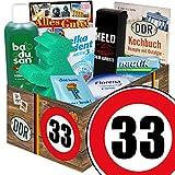 33. Geburtstag | Pflege Set | mit Badusan, Florena und mehr | DDR Pflegebox