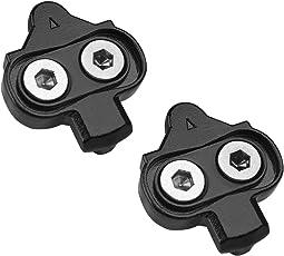 BV Fahrrad-Shimano Schuhplattenset, Shimano SPD Pedalplatten Set, SPD Compatible Bike Cleats