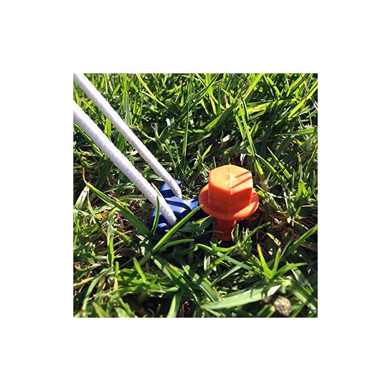 Brunner Peggy Peg 610/122 Screw Pegs 20 cm (Set of 12)