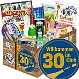 Wilkommen im Club 30 ++ Spezialitäten Box Ostpaket ++ Geschenk 30. Geburtstag