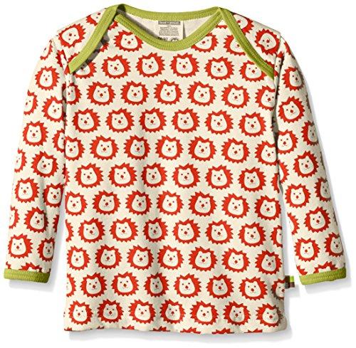 loud + proud Unisex Baby 275 Sweatshirt, Rot (Sunrise su), 68 (Herstellergröße: 62/68) Baby Pullover