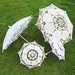 xMxDESiZ Bridal Lace Umbrella Women Parasol Party Photography Props Wedding Decoration
